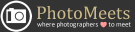 Photomeets - where photographers love to meet.